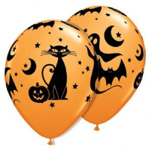 Halloween Latex Balloons | Spooky Icons | Free Delivery